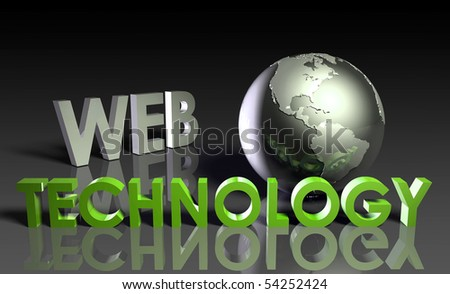 Web Technology Internet Abstract as a Concept - stock photo
