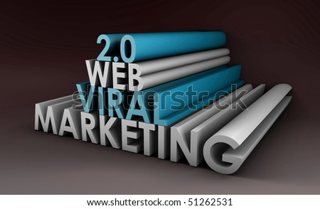 Web 2.0 Viral Marketing Method Online in 3d