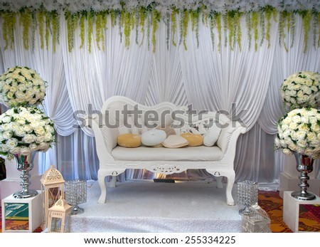 Wedding chairs stock images royalty free images vectors wedding accessories beautiful wedding vintage chairs with a wedding decorations junglespirit Image collections