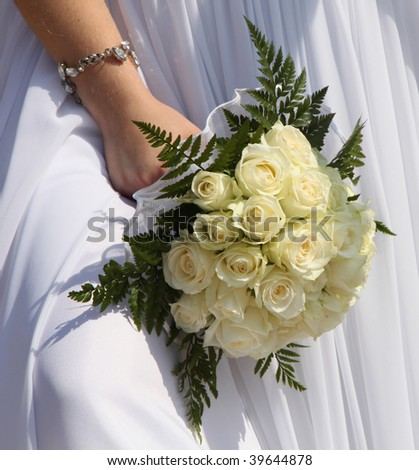 Wedding bouquet for different uses - stock photo