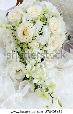 Wedding Bouquet, glamorous and fascinating bouquet