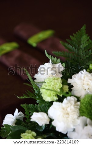 wedding bouquets, flowers for wedding - stock photo