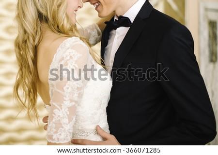 Wedding, Bride, Groom. - stock photo