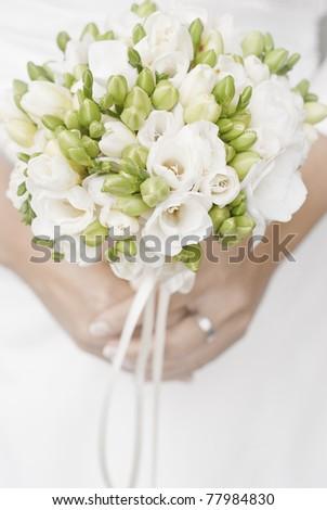 wedding bunch - stock photo