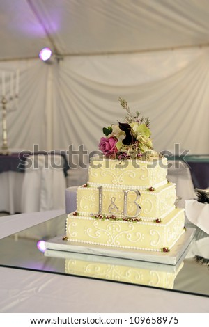 Wedding Cake With Details