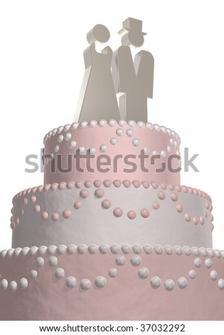 what do wedding cake symbolizes wedding cake silver symbols stock illustration 27049