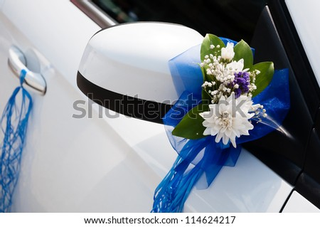 Wedding car decoration flowers ribbons stock photo 100 legal wedding car decoration with flowers and ribbons junglespirit Gallery