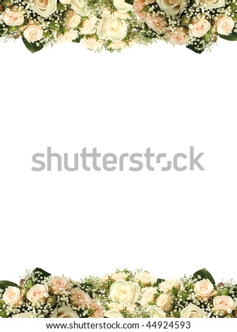 Wedding card with place for your text - stock photo