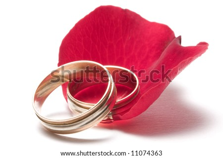 wedding concept - stock photo