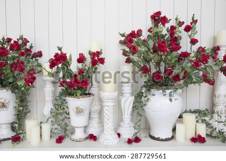 wedding decor  - stock photo