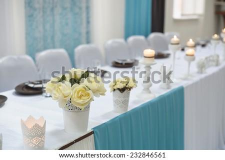 Wedding Decor bride and groom. - stock photo