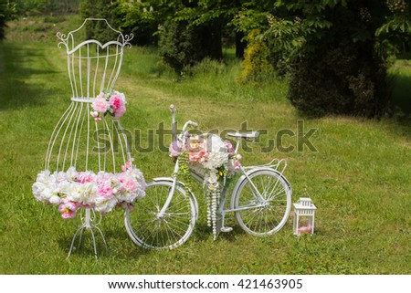 Wedding Decoration. - stock photo