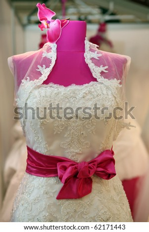 Wedding Dress Detail Stock Images Royalty Free Vectors
