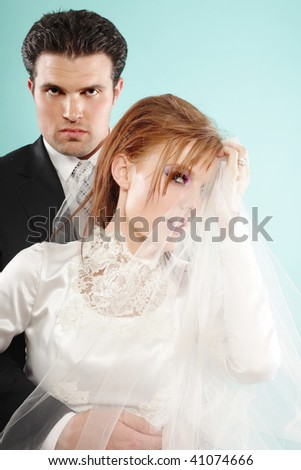 Wedding fashion - stock photo