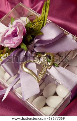 wedding favor - stock photo