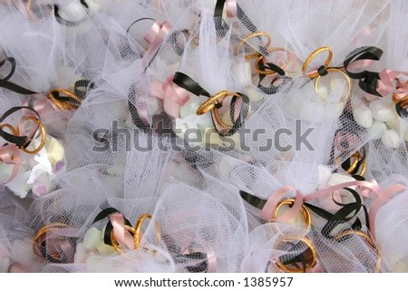 wedding favors - stock photo