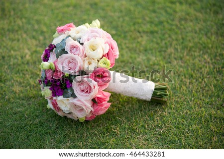 Wedding flowers.