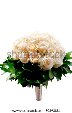 wedding flowers - stock photo