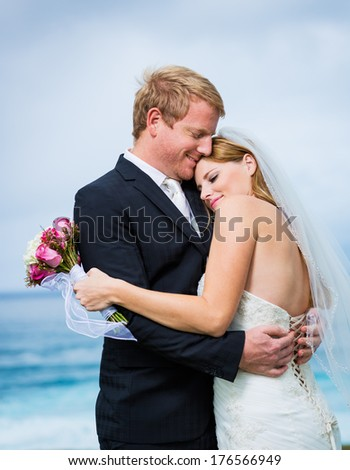 Wedding, Happy couple in love