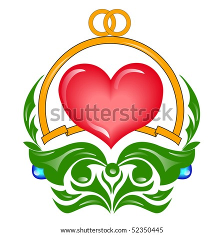 Wedding heart (you can find the same vector illustration in my portfolio)