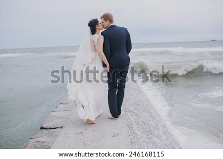 Wedding in Odessa; - stock photo