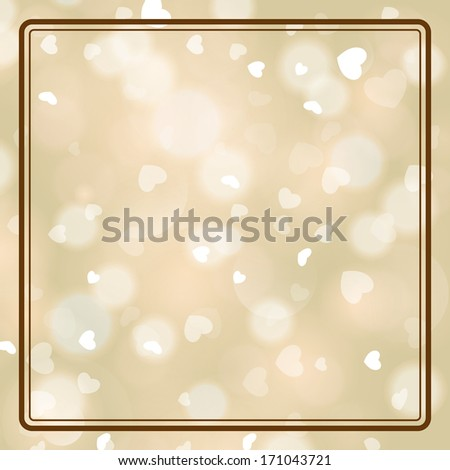 Wedding invitation card. I Love You. Perfect as invitation or announcement. For vector version, see my portfolio. - stock photo