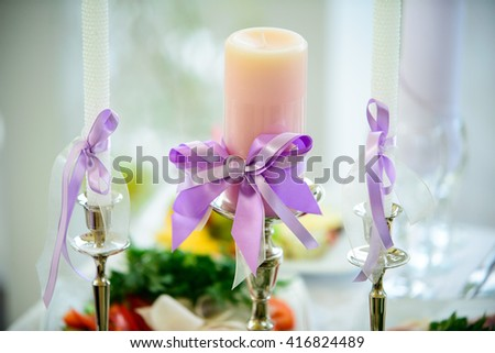 wedding jewelry beautiful lying on the table group - stock photo