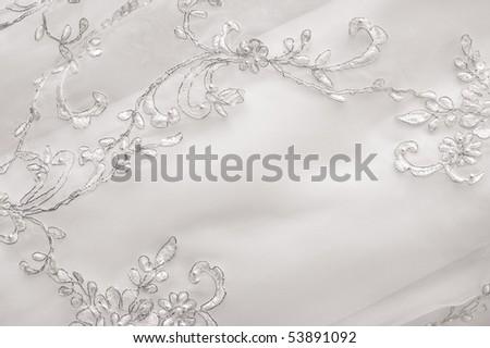 Wedding lace - stock photo