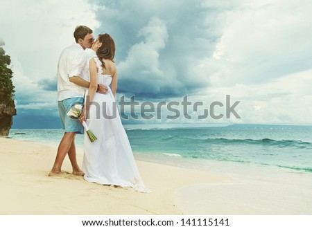 wedding on stormy weather