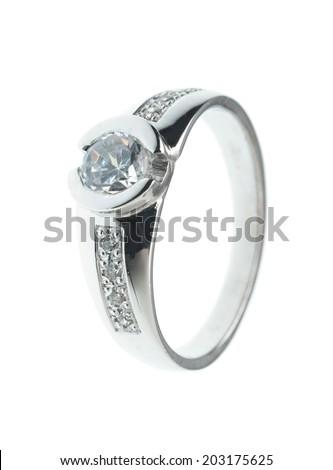Wedding or Engagement Ring  - stock photo