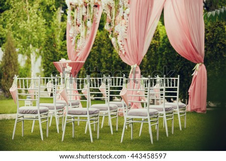 Wedding outdoor decoration stock photo royalty free 443458597 wedding outdoor decoration junglespirit