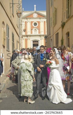 Wedding Party, Antibes, France
