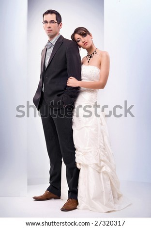 Wedding picture - stock photo