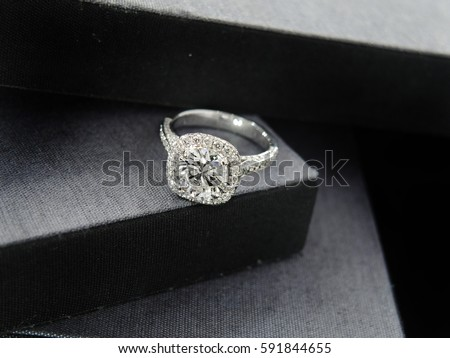 Diamond Ring Stock Images Royalty Free Vectors