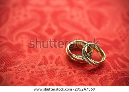 Wedding Ring, Wedding, Ring. - stock photo