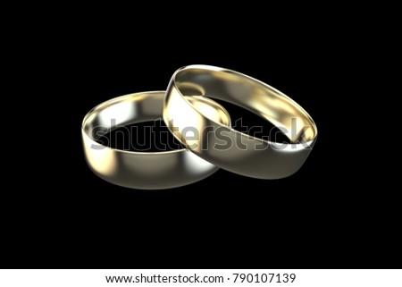 Lightsphere wedding bands