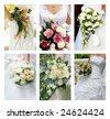 wedding series 59. wedding flowers - stock photo