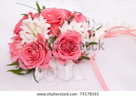 Wedding small bouquet for the hands