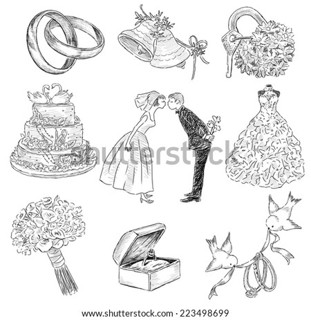 Wedding symbol  Wedding Symbols Stock Images, Royalty-Free Images & Vectors ...