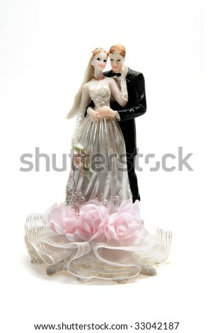 Weding figure - stock photo