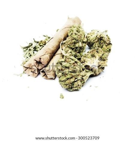 Weed Marijuana Cannabis or Pot  - stock photo