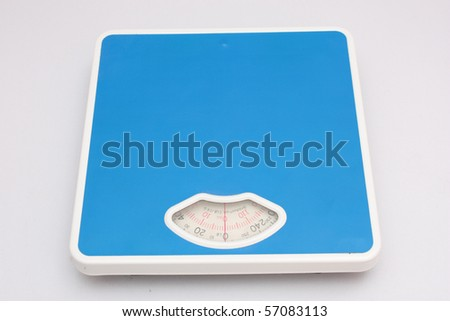 Weighing machine 3 - stock photo