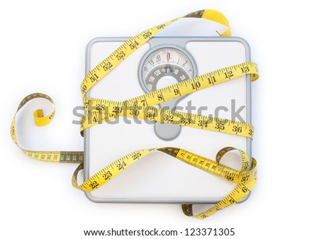 Weighing machines - stock photo