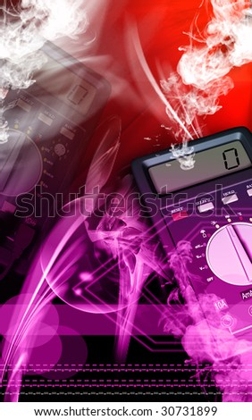 weighing scale - stock photo