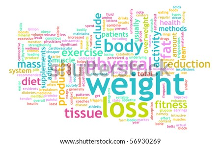 Weight Loss Concept for a Healthy Lifestyle