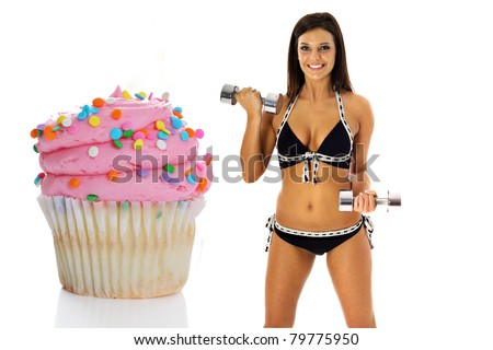 weight loss cupcake