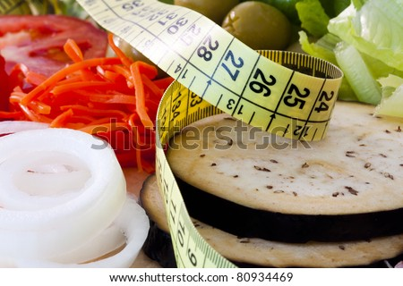 weight loss, healthy diet - stock photo