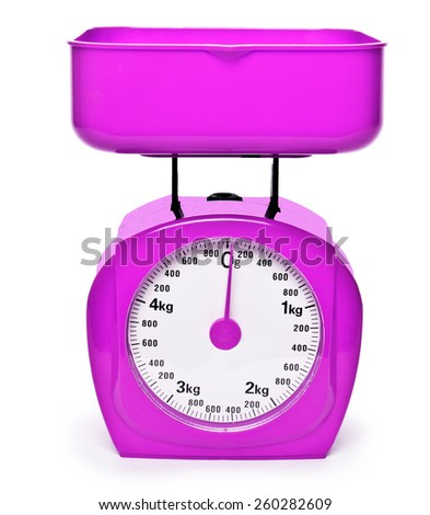 weight pink scale