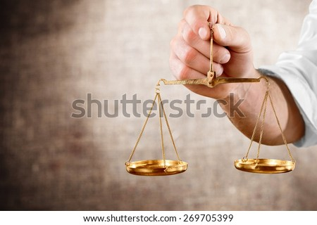 Weight Scale, Balance, Scale. - stock photo