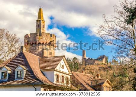 Weinheim historical city  - stock photo